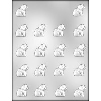 "1"" Pig Chocolate Candy Mold (18)"