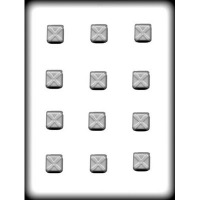 "1"" Squares Hard Candy Mold (12)"