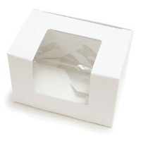 White Egg Box/Window 1 LB
