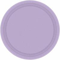 """10.5"""" Banq Plates 20 CT Lavender"""