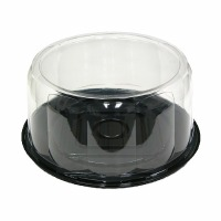 "10"" Plastic Cake Dome Set"