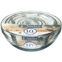 10 Piece Nesting Mixing Bowl Set