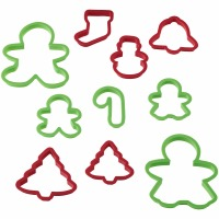 10-PC Plastic X-mas CC Set