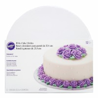"Wilton 10"" Round Cake Boards - 12 Pack"