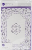 "10""X14"" Doilies White 6 CT"