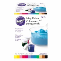 12-PC Icing Color Kit