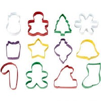 12-PC Metal Christmas CC Set