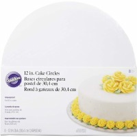 "Wilton 12"" Round Cake Board - 8 Pack"