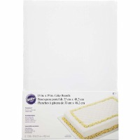 "Wilton 13"" X 19"" Half Sheet Cake Board - 6 Pack"
