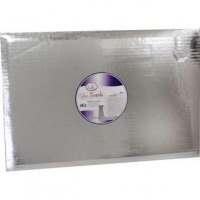 "CK Products 13""X19"" Half Cake Board Silver 6 Pack"