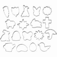 18-PC Easter Cookie Cutters