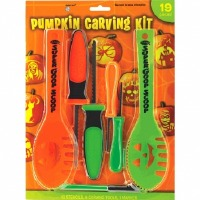 18-PC Pumpkin Carving Kit