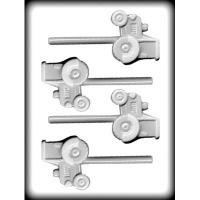 "2-1/2"" Tractor Hard Candy Mold (4)"