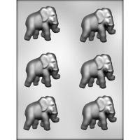 "2.25"" Elephant Candy Mold (6)"