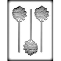 "2-3/4"" Daisy Sucker Hard Candy Mold(3)"