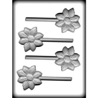 "2-3/4"" Flower Sucker Hard Candy (4)"