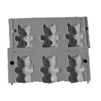"2"" 3D Bear Lolly Mold"