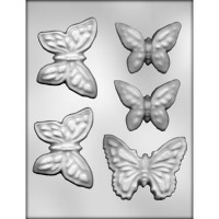 "2.5""-3.5"" Butterflies Mold (5)"