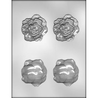 "2.5"" 3D Rose Head Mold (4)"