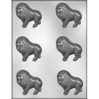 """2.5"""" Lion Mold (15) Candy Mold"""