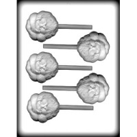 "2.5"" Santa Lolly Mold (5)"