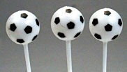 "2-1/2"" Soccer Ball Picks 12 CT"
