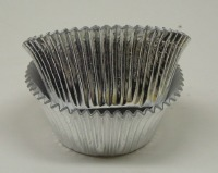 2.5 X1.75 Muffin Silver Foil Baking Cup 500 CT