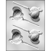 "2 7/8"" Turkey Lolly Mold (4)"