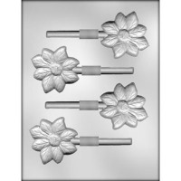 "2.75"" Flower Lolly Mold (4)"