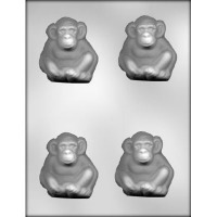"2.75"" Monkey Candy Mold (4)"