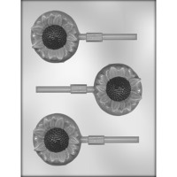 "2.75"" Sunflower Lolly Mold (3)"