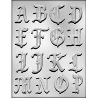 """2"""" Alphabet A-P Mold (16)"""