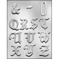 "2"" Alphabet Q-Z Mold (13)"