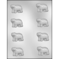 "2"" Bear Chocolate Mold (8)"
