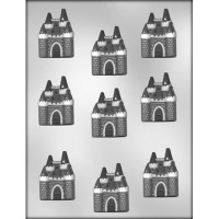 "2"" Castle Choc Mold (9)"