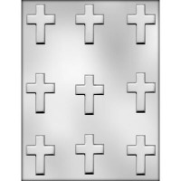 "2"" Cross Choc Mold (9)"