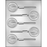"2"" I'm 1 Lolly Choc Mold (5)"