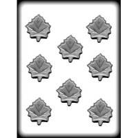 "2"" Maple Leaf Hard Candy Mold (8)"