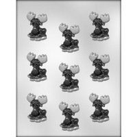 "2"" Moose Chocolate Candy Mold (9)"