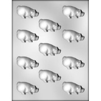 "2"" Pig Chocolate Candy Mold (11)"