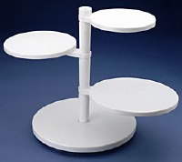 4 Tier Adjustable Cake Stand