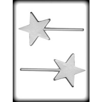"3-1/2"" Textured Star Mold (2)"