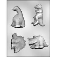 "3.25""-3.5"" Dinosaur Candy Mold (4)"