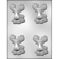 "3.25"" Moose Candy Mold (1)"