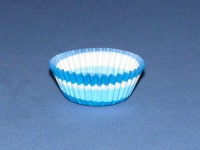 """3/4"""" X 1-3/8"""" Blue Swirl Baking Cups 500 Count"""