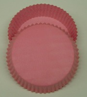 "3/4"" X 3"" Tart Baking Cups Pink 500 Count"