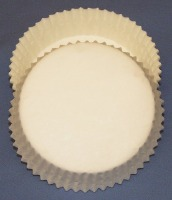 "3/4"" X 3"" Tart Baking Cups White 500 Count"