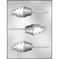 """3.5"""" Ice Cream Cone Lolly (3)"""