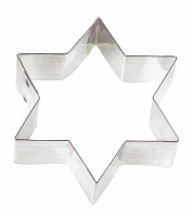 "3"" 6-Point Star Cookie Cutter"