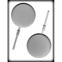 """3.75"""" Circle Lolly Mold Hard Candy"""